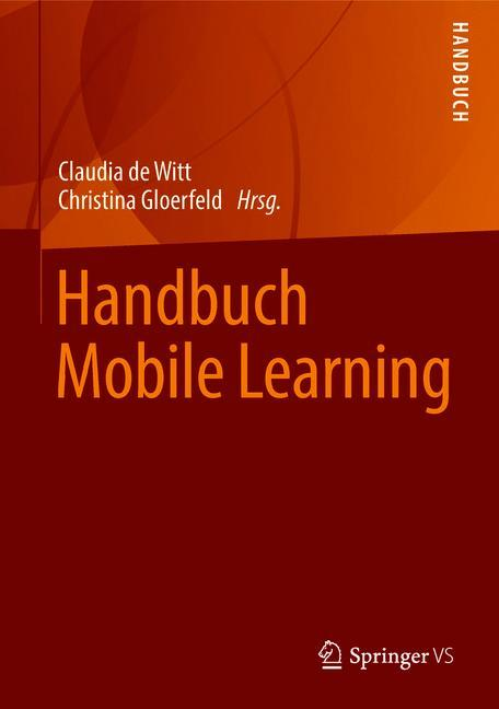 Cover of 'Handbuch Mobile Learning'