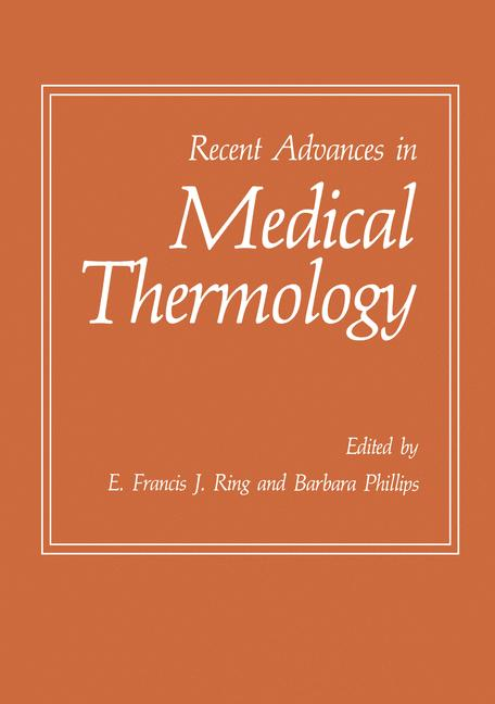 Cover of 'Recent Advances in Medical Thermology'