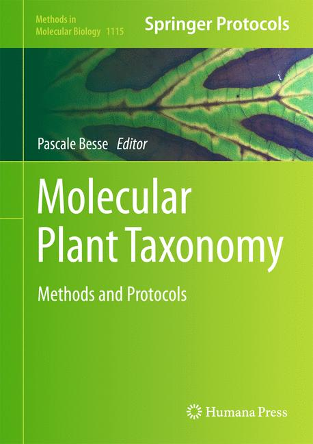 Cover of 'Molecular Plant Taxonomy'
