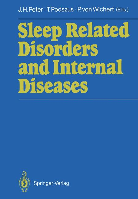 Cover of 'Sleep Related Disorders and Internal Diseases'