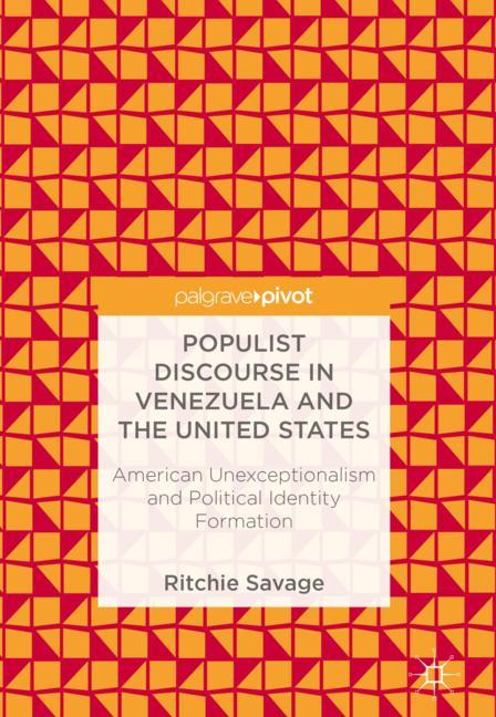 Cover of 'Populist Discourse in Venezuela and the United States'