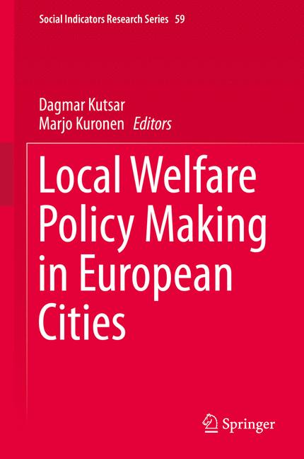 Cover of 'Local Welfare Policy Making in European Cities'