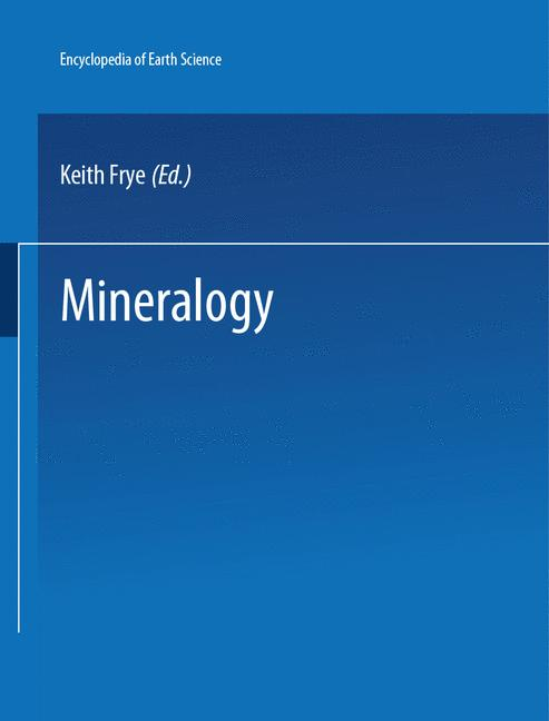 Cover of 'Mineralogy'