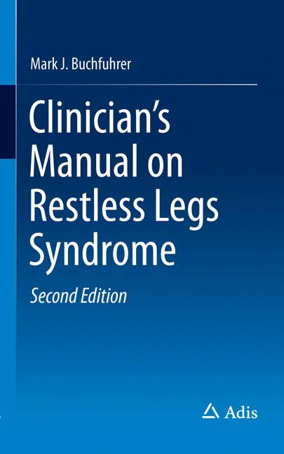 Cover of 'Clinician's Manual on Restless Legs Syndrome'