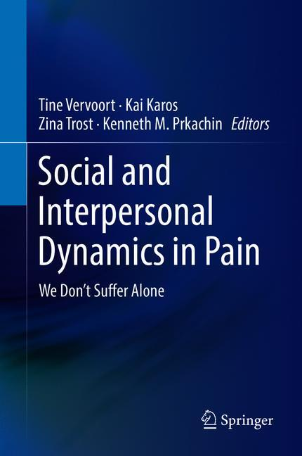 Cover of 'Social and Interpersonal Dynamics in Pain'