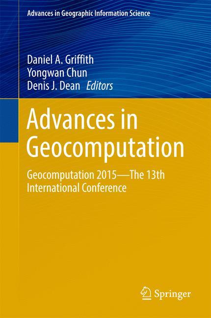 Cover of 'Advances in Geocomputation'