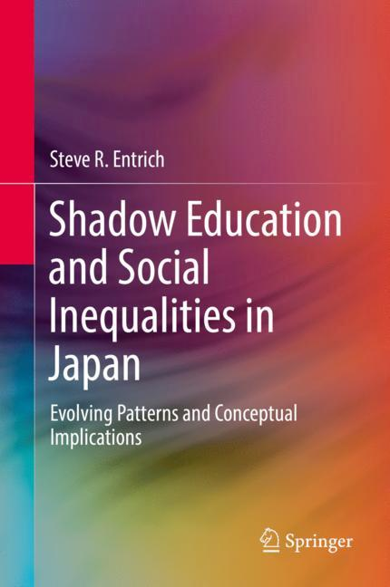 Cover of 'Shadow Education and Social Inequalities in Japan'