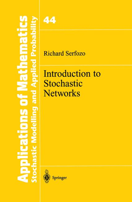 Cover of 'Introduction to Stochastic Networks'