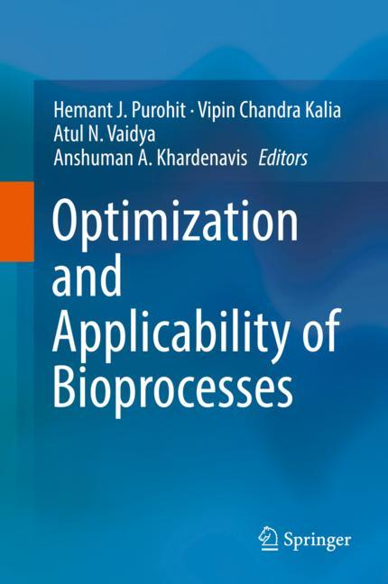 Cover of 'Optimization and Applicability of Bioprocesses'