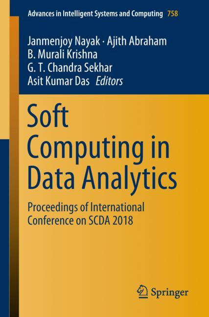 Cover of 'Soft Computing in Data Analytics'