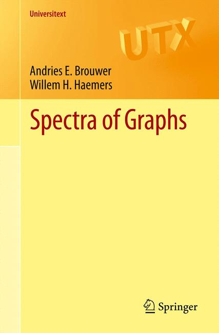 Cover of 'Spectra of graphs'