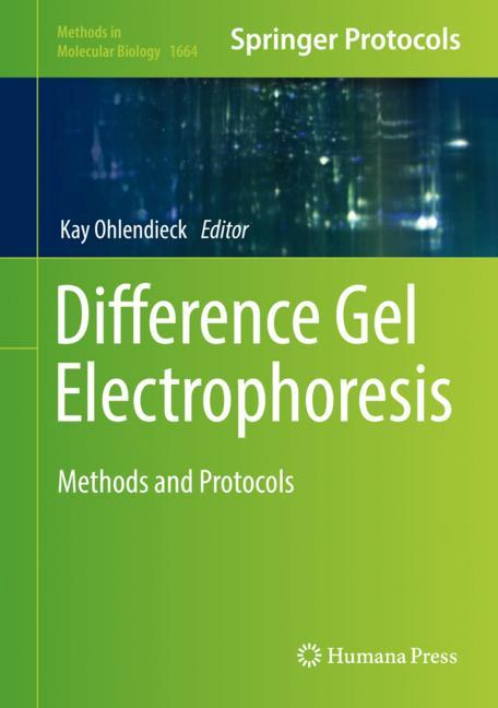 Cover of 'Difference Gel Electrophoresis'