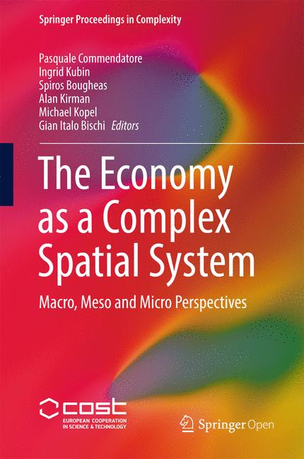 Cover of 'The Economy as a Complex Spatial System'