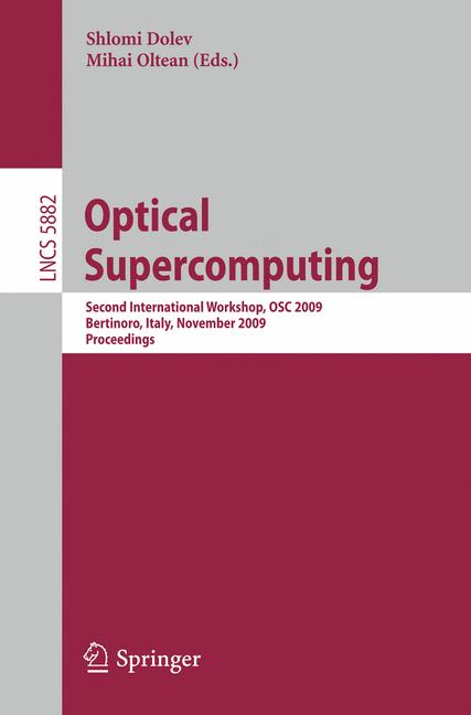 Cover of 'Optical SuperComputing'
