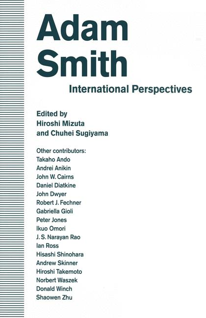 Cover of 'Adam Smith: International Perspectives'