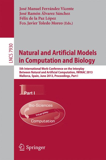Cover of 'Natural and Artificial Models in Computation and Biology'