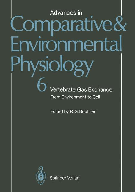 Cover of 'Vertebrate Gas Exchange'