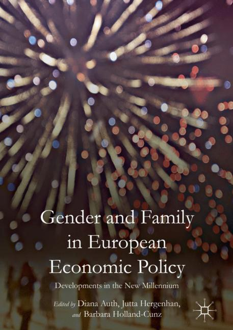 Cover of 'Gender and Family in European Economic Policy'