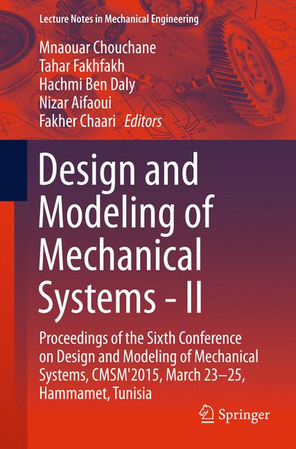 Cover of 'Design and Modeling of Mechanical Systems - II'