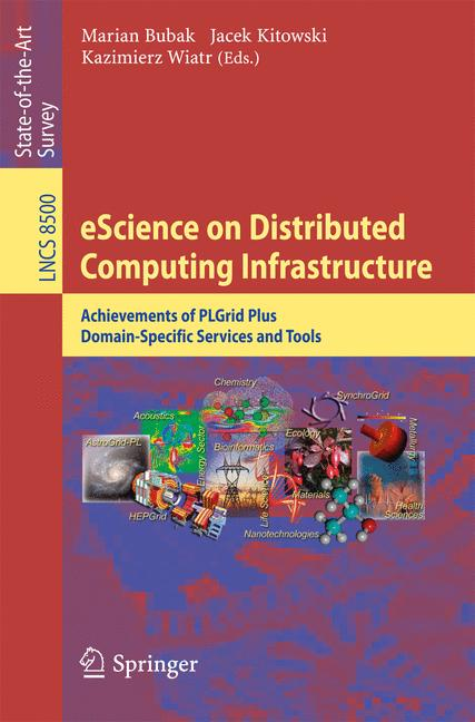 Cover of 'eScience on Distributed Computing Infrastructure'