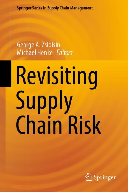 Cover of 'Revisiting Supply Chain Risk'