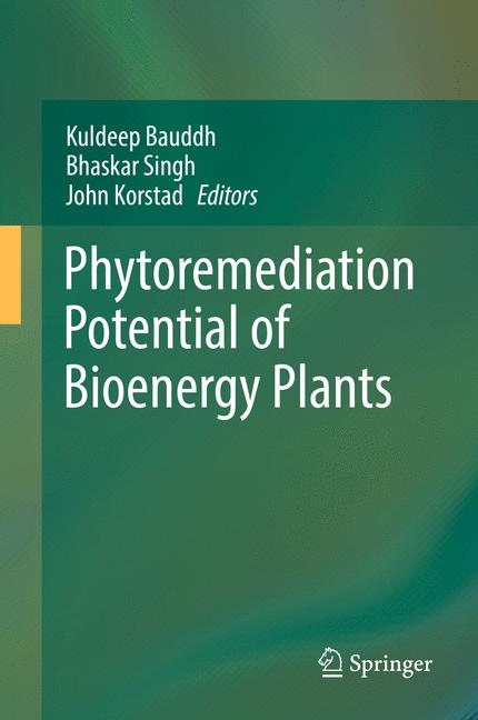 Cover of 'Phytoremediation Potential of Bioenergy Plants'