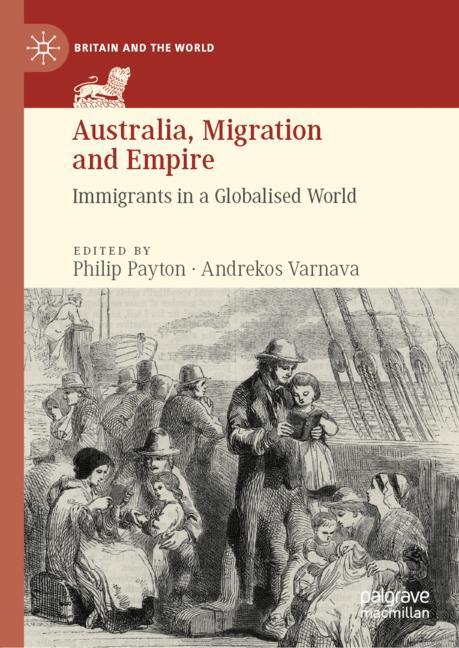 Cover of 'Australia, Migration and Empire'