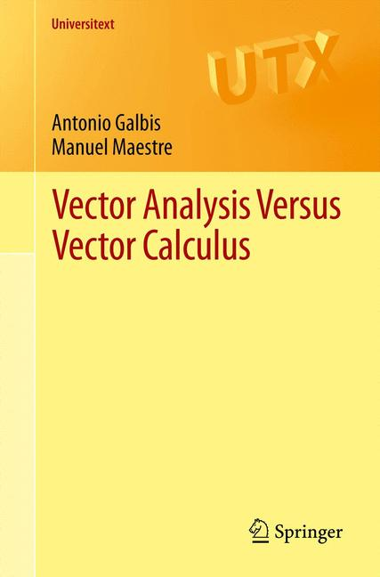 Cover of 'Vector Analysis Versus Vector Calculus'