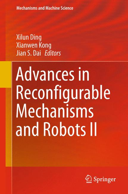 Cover of 'Advances in Reconfigurable Mechanisms and Robots II'