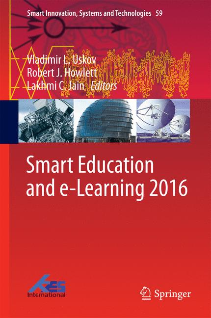 Cover of 'Smart Education and e-Learning 2016'