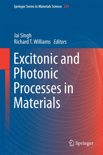 Cover of 'Excitonic and Photonic Processes in Materials'