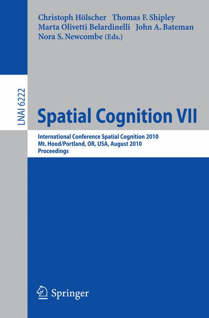 Cover of 'Spatial Cognition VII'