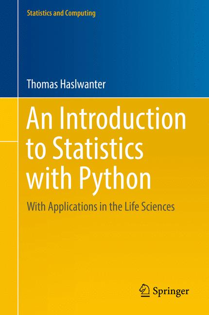 Cover of 'An Introduction to Statistics with Python'