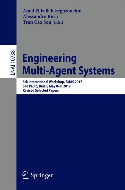 Cover of 'Engineering Multi-Agent Systems'