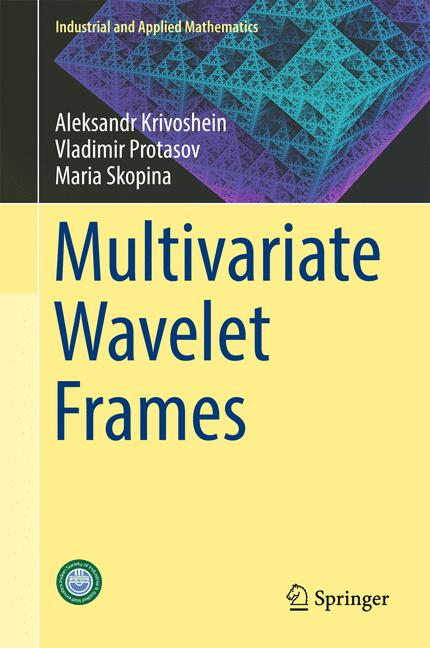 Cover of 'Multivariate Wavelet Frames'