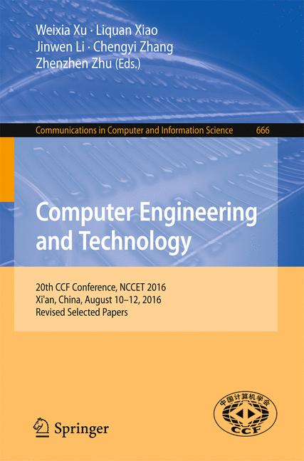 Cover of 'Computer Engineering and Technology'
