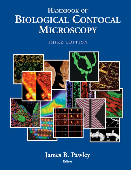 Cover of 'Handbook Of Biological Confocal Microscopy'