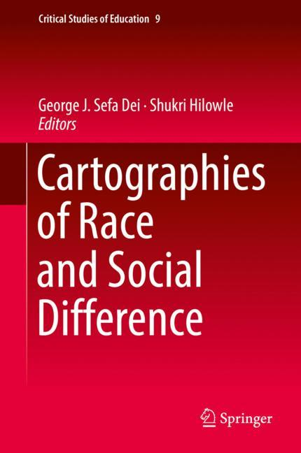 Cover of 'Cartographies of Race and Social Difference'