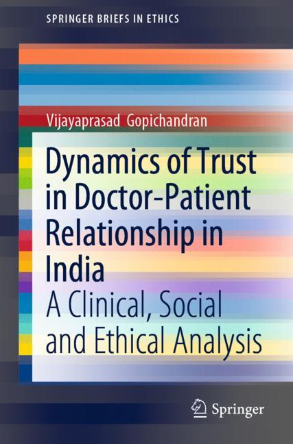 Cover of 'Dynamics of Trust in Doctor-Patient Relationship in India'
