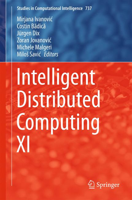 Cover of 'Intelligent Distributed Computing XI'