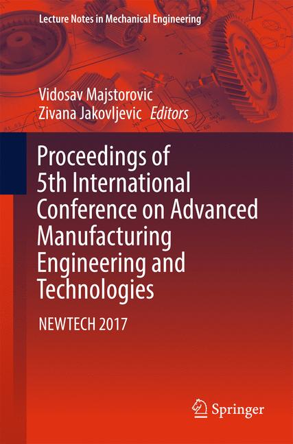 Cover of 'Proceedings of 5th International Conference on Advanced Manufacturing Engineering and Technologies'