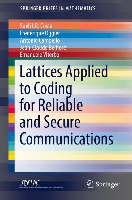 Cover of 'Lattices Applied to Coding for Reliable and Secure Communications'