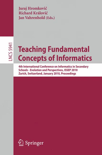 Cover of 'Teaching Fundamentals Concepts of Informatics'