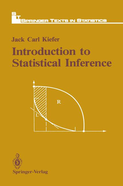 Cover of 'Introduction to Statistical Inference'