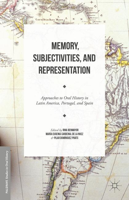 Cover of 'Memory, Subjectivities, and Representation'