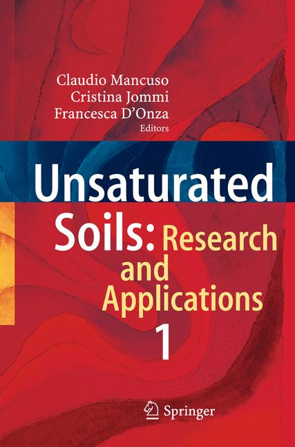 Cover of 'Unsaturated Soils: Research and Applications'