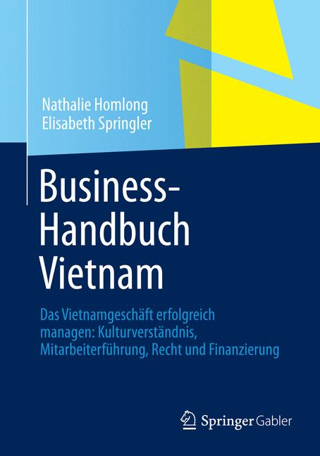 Cover of 'Business-Handbuch Vietnam'