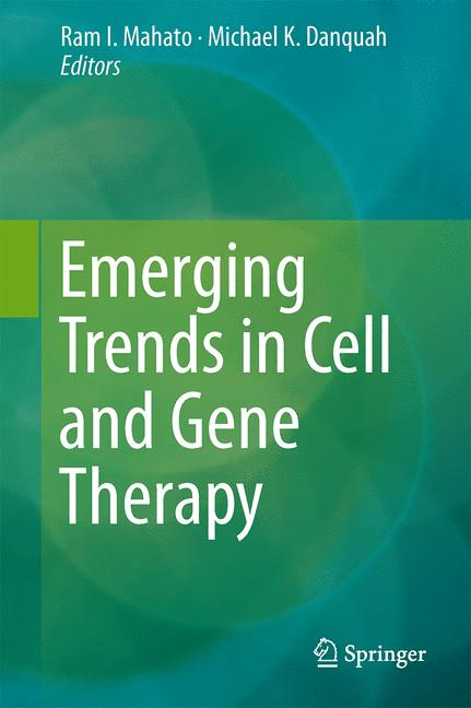 Cover of 'Emerging Trends in Cell and Gene Therapy'