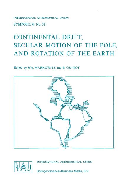 Cover of 'Continental Drift, Secular Motion of the Pole, and Rotation of the Earth'