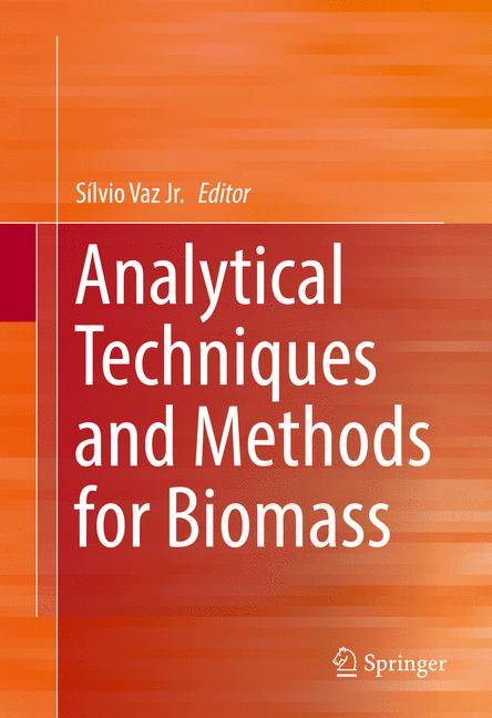 Cover of 'Analytical Techniques and Methods for Biomass'
